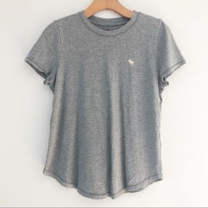 Abercrombie Kids Grey Tee Girls 15/16-XL
